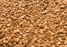 Coffee in granules perspective Stock Images