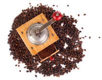 Coffee grind Stock Photography