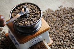 Coffee Grinder. Beautiful old-styled image of Coffee Grinder Royalty Free Stock Images