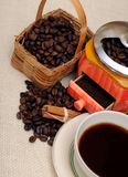 Coffee grinder Stock Images