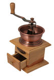 Coffee grinder. Adaptations for a grinding of the whole grains of coffee Royalty Free Stock Photography