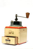 Coffee grinder antique 1 Royalty Free Stock Photos