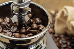 Coffee grinder. Royalty Free Stock Photos