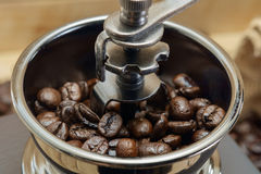 Coffee grinder. Royalty Free Stock Image