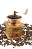 Coffee grinder with coffee Stock Photos