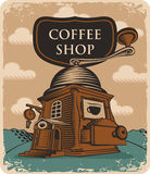 Coffee grinder coffee shop Stock Images