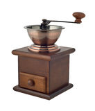 Coffee grinder empty cutout Royalty Free Stock Photography