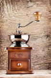 Coffee grinder with a handle Royalty Free Stock Images