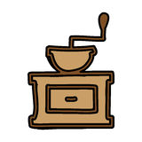 Coffee grinder isolated icon Royalty Free Stock Photography