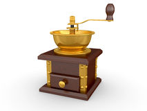 Coffee grinder manual Royalty Free Stock Image