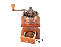 Coffee Grinder over white Stock Image