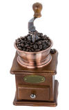 Coffee Grinder over white background Stock Photos