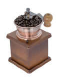 Coffee Grinder over white background. A hand Coffee Grinder over white background Stock Images