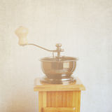 Coffee grinder with retro effect Royalty Free Stock Photos