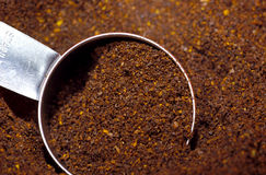 Coffee Grinds Royalty Free Stock Photo