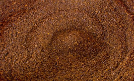 Coffee ground background Stock Photography
