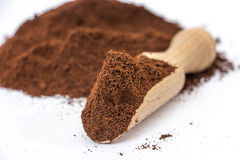 Coffee ground. Royalty Free Stock Photography