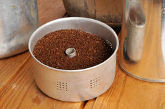 Coffee grounds Royalty Free Stock Photos