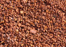 Coffee Grounds Background Stock Photo