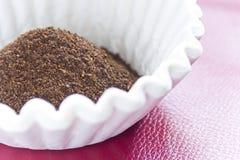 Coffee Grounds Filter Stock Photos