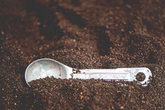 Coffee Grounds Stock Images