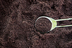 Coffee Grounds Royalty Free Stock Image