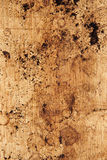 Coffee Grounds on Wooden Counter Royalty Free Stock Images