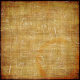 Coffee grunge. Coffee abstract grunge background - card menu Stock Photography