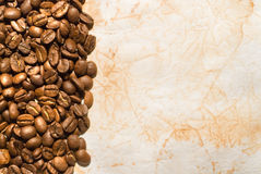 Coffee grunge background Stock Images