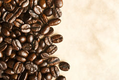 Coffee grunge background Royalty Free Stock Image