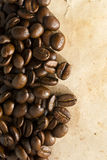 Coffee grunge background Royalty Free Stock Photos