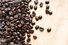 Coffee grunge background Royalty Free Stock Photo