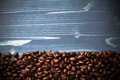 Coffee on grunge wooden Stock Photo