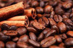 Coffee on grunge. Wooden background Royalty Free Stock Images