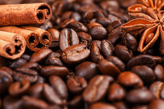 Coffee on grunge. Wooden background Royalty Free Stock Image