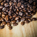 Coffee on grunge wooden background Royalty Free Stock Photography
