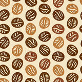 Coffee Hand Drawn Pattern Royalty Free Stock Image