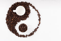 Coffee harmony Stock Photography