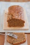 Coffee Hazelnut Cake Stock Photo