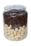 Coffee and hazelnut Stock Image