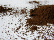 Coffee Heap. Heap of coffee on white background royalty free stock images