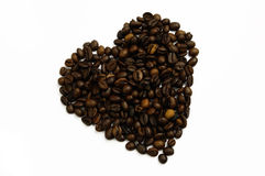 Coffee heart Stock Photos