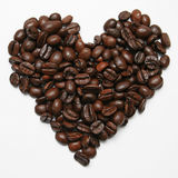 Coffee Heart Royalty Free Stock Photos