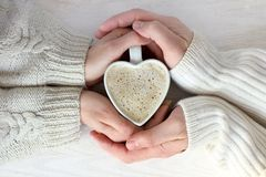 Warming power of love Royalty Free Stock Images