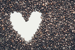 Coffee Heart Royalty Free Stock Photos