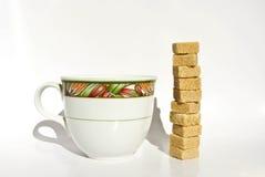 Coffee high sugar Stock Photography