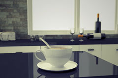 Coffee on home art Royalty Free Stock Photography