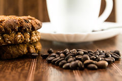 Coffee and homemade cookies Royalty Free Stock Photo
