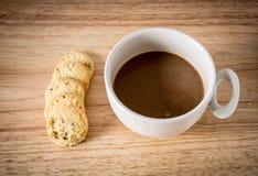 Coffee and Homemade cookies Stock Photo