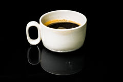 Coffee. A hot coffee Stock Photography